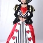 костюм карточной королевы