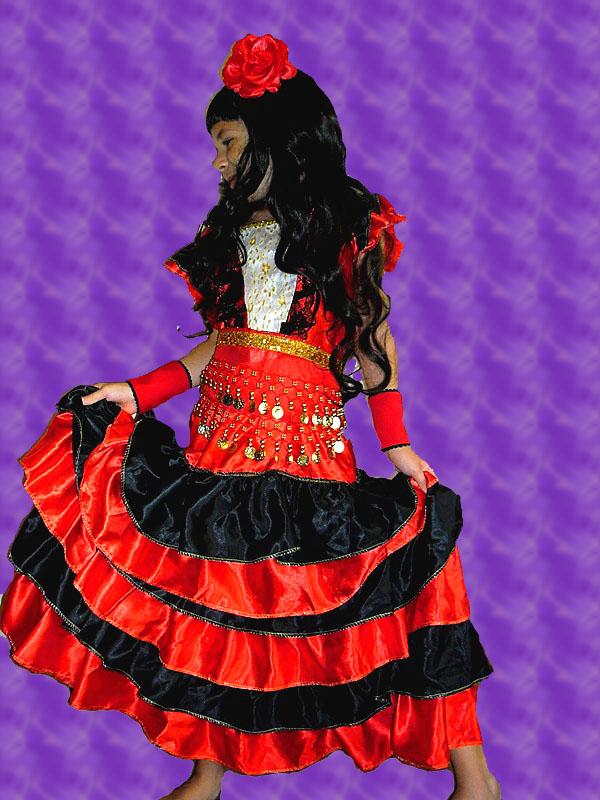 Цыганочка, костюм для девочки
