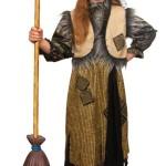 костюм Бабы Яги детский