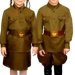 Военные костюмы детские