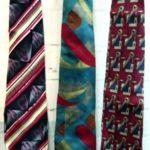 галстуки ретро