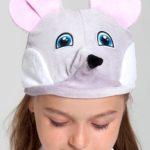 шапка мышонка
