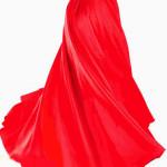 юбка красная длинная