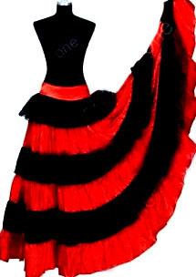 юбка цыганская
