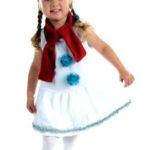 девочка-снеговик