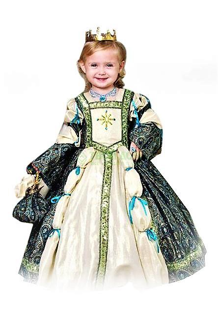 костюм королевы