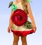 детский карнавальный костюм розы