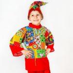 костюм петрушки
